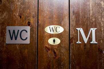 WC-kirjaimet ja irtokirjaimet.